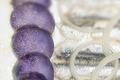 Salade de pommes vitelottes et anchois marinés au vinaigre de Violette
