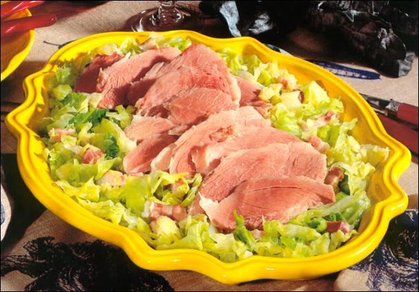 Recette palette de porc l 39 embeurr e de chou - Cuisiner palette de porc ...