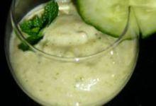 Gaspacho de courgette
