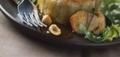 Gâteau de pomme de terre au confit et au foie gras de canard par philippe renard