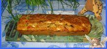 Cake aux Poivrons, Thon, Féta et Olives Noires 1