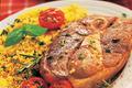 Steak d'agneau du Limousin grillé et sa semoule aux herbes
