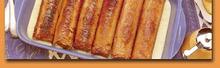 Andouillettes sauce Roquefort