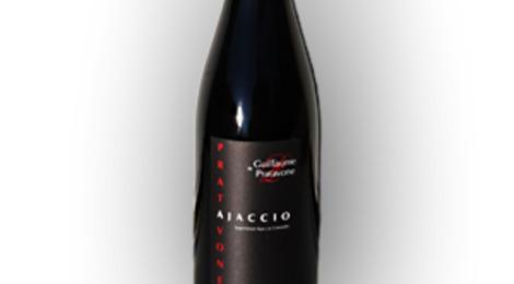 Vin corse: 3 Pratavone cuvée Guillaume rouge