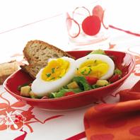 recette la salade aux ufs d 39 oie un repas complet. Black Bedroom Furniture Sets. Home Design Ideas