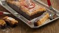 la bûche au chocolat et pain d'épices