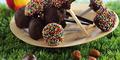sucettes chocolat-noisettes