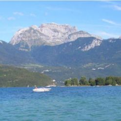 Le lac d'Annecy