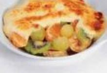Gratin de fruits saisonniers