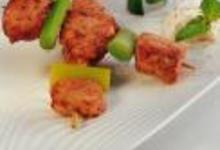 recette brochette de poulet tandoori au yaourt et la menthe. Black Bedroom Furniture Sets. Home Design Ideas