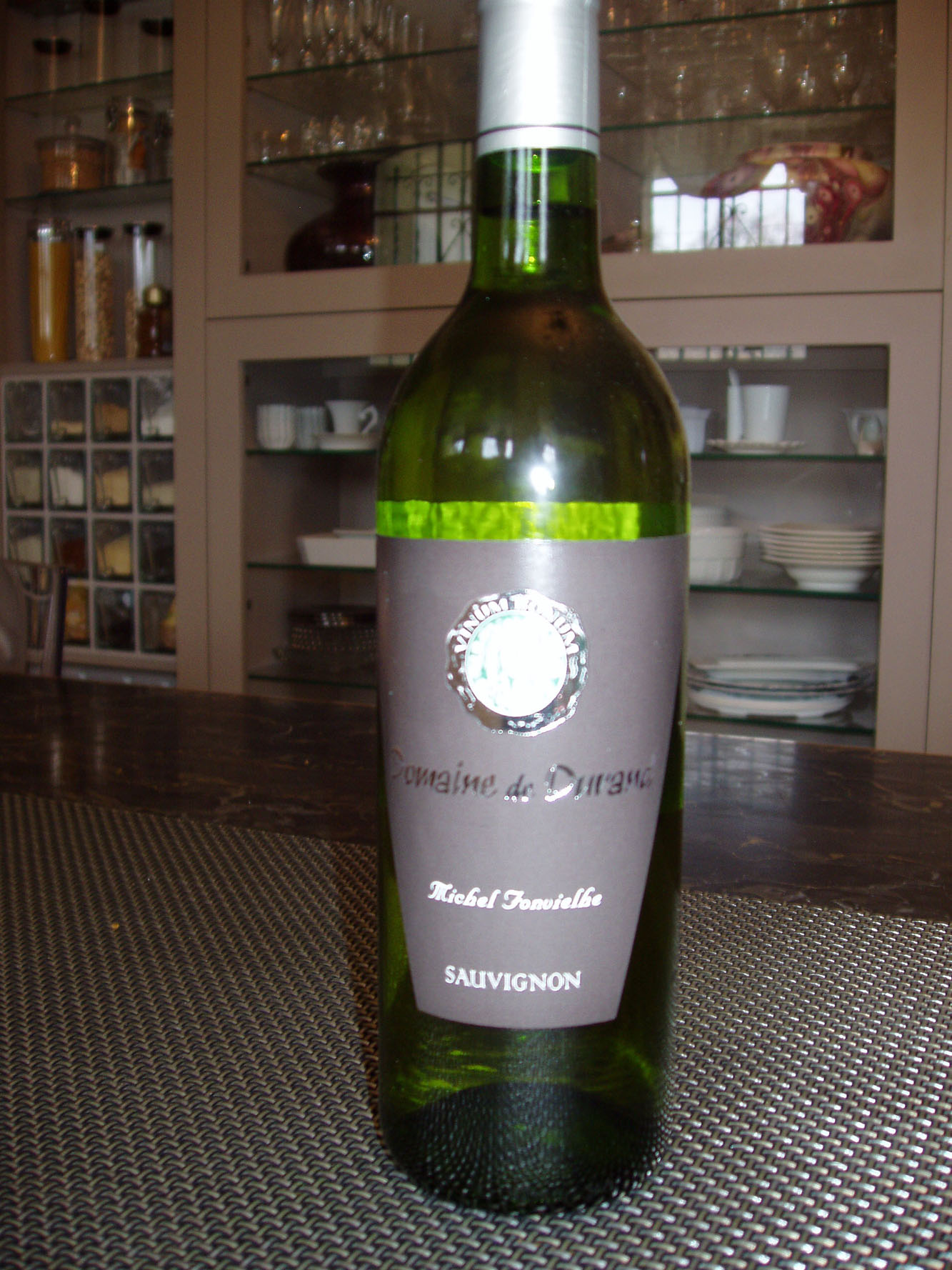 Vin blanc cotes de duras sauvignon sec domaine de durand for Vin blanc sec cuisine