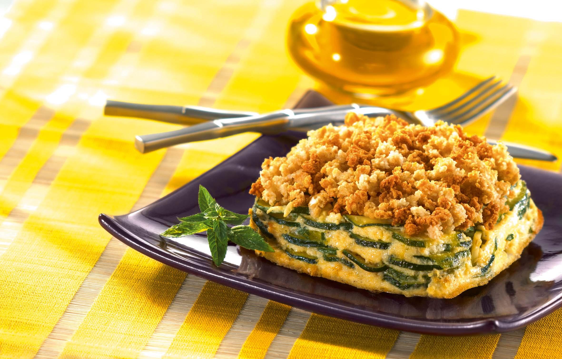 Recette gratin extra croustillant de courgettes - Cuisine belge recettes du terroir ...