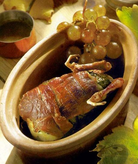 Recette perdreaux rotis en cocotte au chasselas de moissac - Cuisine belge recettes du terroir ...