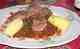Joues de Porc Confites sur Lit de Lentilles aux Saveurs de Pain d'Epices