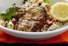 Agneau marocain et taboulé