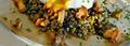 Ragoût de lentilles vertes du puy aux girolles