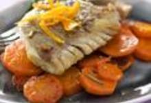 recette filet de lieu noir caram lis l 39 orange et carottes. Black Bedroom Furniture Sets. Home Design Ideas