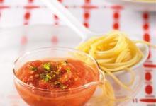 Coulis de Tomates de France ronde, miel et gingembre