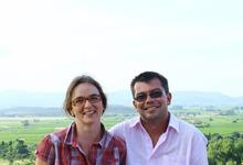 Stéphane et Alexandra RADET, reconvertis dans la viticulture par passion