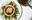 Petit sablés de foie gras sur confit d'oignons
