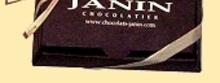CHOCOLATS JANIN