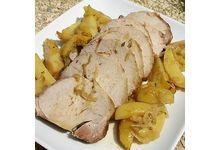 Le rôti de porc au cidre