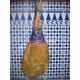 Jambon espagnol Serrano «  gran reserva » avec os