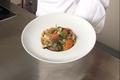 Nouilles sautées au boeuf, coriandre, gingembre et petits légumes