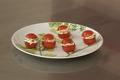Tomates cocktail farcies à la ricotta