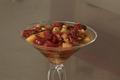 Salade de fruits frais au basilic