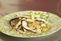 Salade de Farfalle, poulet au vinaigre balsamique