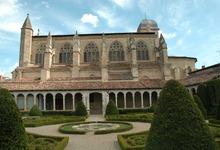 le cloître de Notre Dame de Marmande