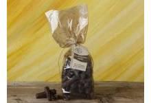 Gingembre confit enrobé de chocolat
