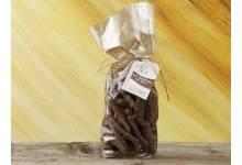 Aiguillettes de citron enrobées chocolat