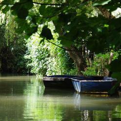 balade sur la Venise verte