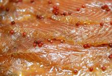 """Saumon fumé """" Label Rouge """" mariné (à la tranche)"""