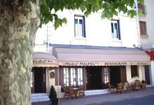 Hôtel Malpel, restaurant Le Moderne