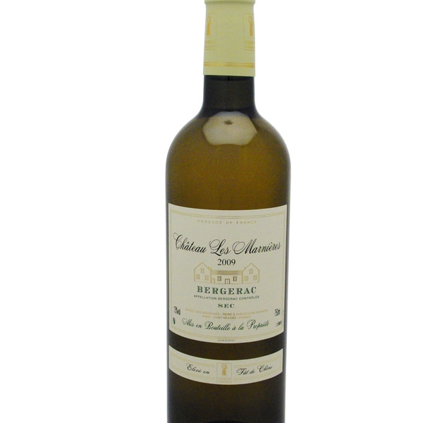 vin blanc sec bergerac 2014 cuv e l 39 eglantier chateau les marnieres. Black Bedroom Furniture Sets. Home Design Ideas