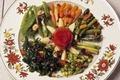 Jardinière de légumes à la Bilbaína
