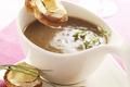 Soupe à l'Oignon, chèvre et Bière de Noël