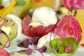 Légumes Cuits, Légumes Crus, Mousse d'Huître Marennes Oléron, Vinaigrette Venue d'Orient