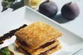 Feuilleté au foie gras et aux figues
