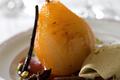Château Rieussec  et ses poires pochées aux épices