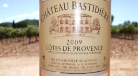 rosé cuvée tradition, chateau Bastidière