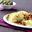 Ravioli Trattoria, tomates mozzarella aux aubergines et tomates confites, câpres de pantelleria
