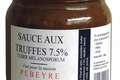 Sauce aux truffes 7,5%