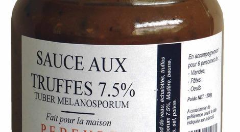 Sauce aux truffes 7,5%