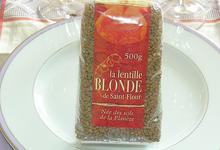 La lentille blonde de Saint-Flour