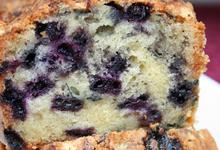 Cake Des Hautes Chaumes Aux Myrtilles Et À La Fourme D'Ambert