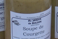 Soupe de courgette